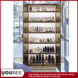 方法Lady High Heeled ShoesおよびBoots Display ShowcaseまたはFurniture、Woman Shoe Shop Design