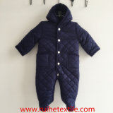 Mameluco acolchado tejido invierno, mono de la nieve para los bebés