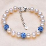 Bracelet perle authentique Bracelet perle populaire Bracelet perles d'eau douce AAA 8-9mm