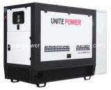 Соедините производство электроэнергии двигателя силы 20kw 25kVA звукоизоляционное Isuzu