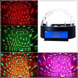 Mini luz mágica de la etapa del disco del RGB LED del control del MP3 de la bola