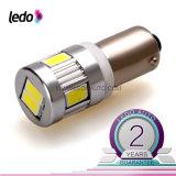 Электрическая лампочка автомобиля T10 Ba9s 6*5730SMD Canbus СИД