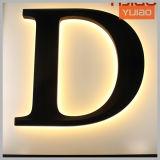 Lettres acryliques de Sidelit DEL pour la construction élevée