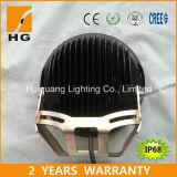 3D luz de conducción redonda campo a través del CREE LED de la luz 4X4 185W del trabajo del reflector 185W LED 9inch