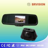 Sistema del video dello specchio di automobile da 4.3 pollici con IP69k