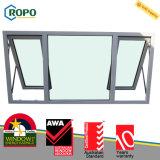 Standard australiano di plastica economizzatore d'energia della finestra di vetro della tenda di sicurezza UPVC