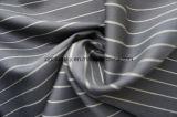 Streifen-Marine-Wolle-Gewebe der 100% Wollen