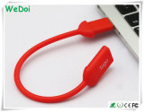 Movimentação nova da pena do USB do Wristband com logotipo personalizado (WY-S15)