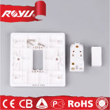 PC Material 10A BS Push Button Switch di Tempo di 40000 usi