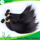 Menschenhaar-unverarbeitetes brasilianisches Jungfrau-Haar