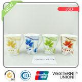 Tasse en céramique/de porcelaine cadeau avec le modèle de café