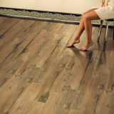 Porcellana Glazed Tile Floor in Wood
