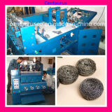 Stainless automatique Steel Mesh Scourer Clean Ball Making Machine 6kg/H