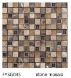 Mosaico di pietra naturale Mixed del metallo per le mattonelle di pavimentazione (FYSG045)