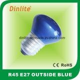 R45-E26 E27 B22 en dehors d'ampoule colorée de Refelctor