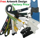 Identifikation Card Holder Lanyard mit Customer Logo Printing