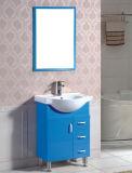 Pavimento del PVC di disegno semplice che si leva in piedi vanità di ceramica della stanza da bagno della ciotola