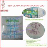 L'OEM entretiennent la couche-culotte jetable sèche de bébé de Procucing d'usine d'OIN de la Chine pour l'Afrique