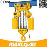 7.5ton het elektrische Hijstoestel van de Ketting met het Elektrische Type van Karretje (HHBB7.5-03SE)