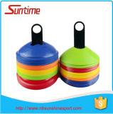 Sport formant le cône en plastique mou de disque de zone, positionnements de cône de disque, cônes de disque d'agilité