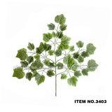 卸し売り人工的な葉の高品質のプラスチック人工的なブドウの葉3396