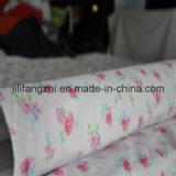 Tissu estampé et teint de flanelle de l'usine Cotton/Tc/CVC de la Chine de flanelle