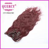 Het Haar van de Klemmen van Remy van het Menselijke Haar van 100%