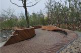 Le plancher en bambou extérieur normal