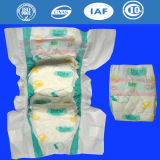 通気性の証明されたDispsaobleの安い赤ん坊のおむつはテープを温和にする