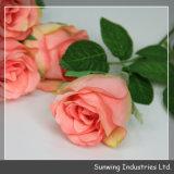 Fleurs réelles artificielles de contact de beauté de qualité pour la décoration de mariage