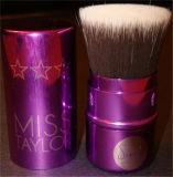 Brosse réutilisable de maquillage de Kabuki de dessus plat