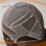 Europea de alta calidad de la Seda Cabello Top Cap judía Pelucas Kosher Sheiteles Pelucas