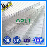 CE ISO 9001: 2008 Approved Lexan Polycarbonate Hollow Sheet