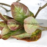 홈 또는 정원 훈장 (SW17675)를 위한 널리 이용되는 인공적인 잎 꽃
