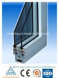 Extrusões do alumínio das portas dianteiras de Windows