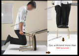 도매 고품질 쌓을수 있는 철 의자