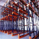 De Aandrijving van de Opslag van het Pakhuis van Sanlian door het Rekken van de Pallet Planken