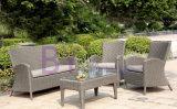 sofá ao ar livre impermeável do jardim da casa de campo do lazer do bastão de Rattan by-427