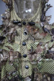 capote del camuflaje de la hoja 3D para que gente vaya a pescar