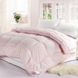 di 100%Cotton Downproof del reticolo dell'anatra coperchio del Duvet del Comforter giù