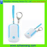 Сигнал тревоги OEM личный с подарком промотирования света факела Keychain