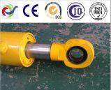 Cylindre hydraulique de projet de pièces de rechange de machines