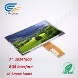 7 인치 1024년 (RGB) X600 해결책 TFT LCD