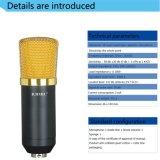 Microphone de blé de cri de Yy d'enregistrement d'ordinateur de microphone de condensateur