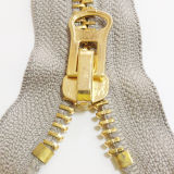 #10 grosses Teeth Gold Zipper für Garments