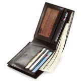 최신 판매 고전적인 마감 카드 홀더 지갑 가죽 포켓 지갑