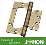 Acero o bisagra enrasada del hardware de la puerta o de la ventana del hierro