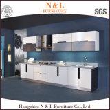 Cabina de cocina de madera de los altos del lustre muebles del hogar
