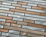 Mosaïque en aluminium Tlle de Mtal de couleur mélangée pour le carrelage (FYL048)