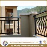 錬鉄のバルコニーの塀デザイン